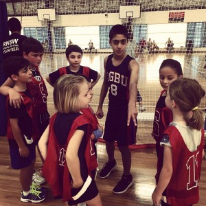 u10's with Coach Aris Hagopian
